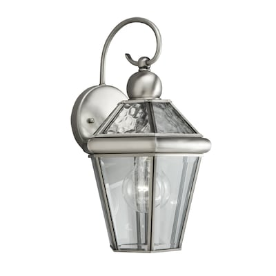 H Antique Pewter Outdoor Wall Light