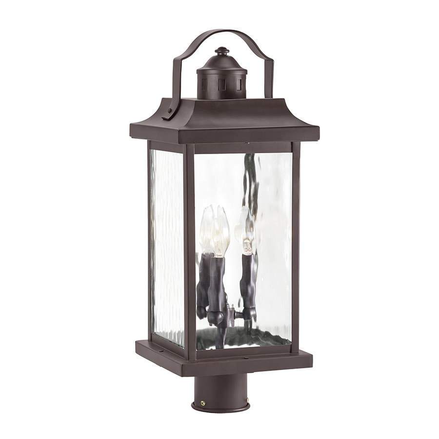 Shop kichler linford 2213 in h olde bronze post light at lowes kichler linford 2213 in h olde bronze post light aloadofball Gallery