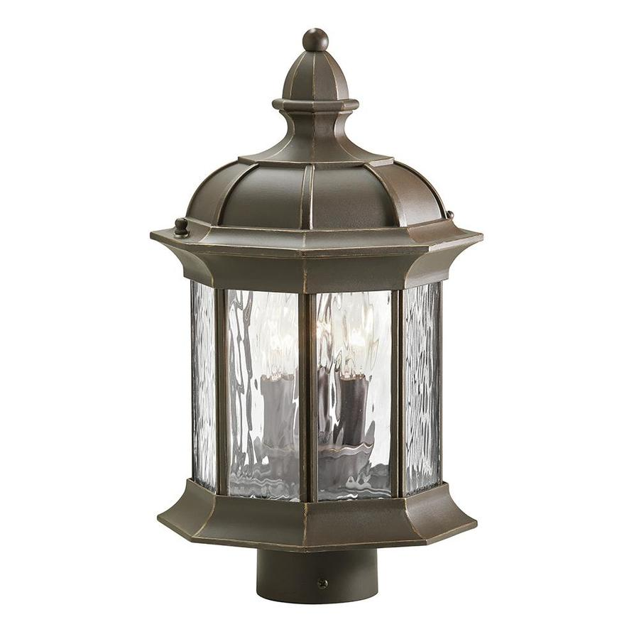 Shop kichler brunswick 1535 in h olde bronze post light at lowes kichler brunswick 1535 in h olde bronze post light aloadofball Gallery