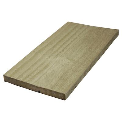 Pressure Treated Lumber (Common: 1 x 6 x 16