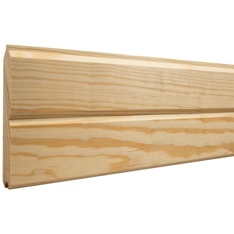 5.13-in x 8-ft Pine Wood Wall Plank