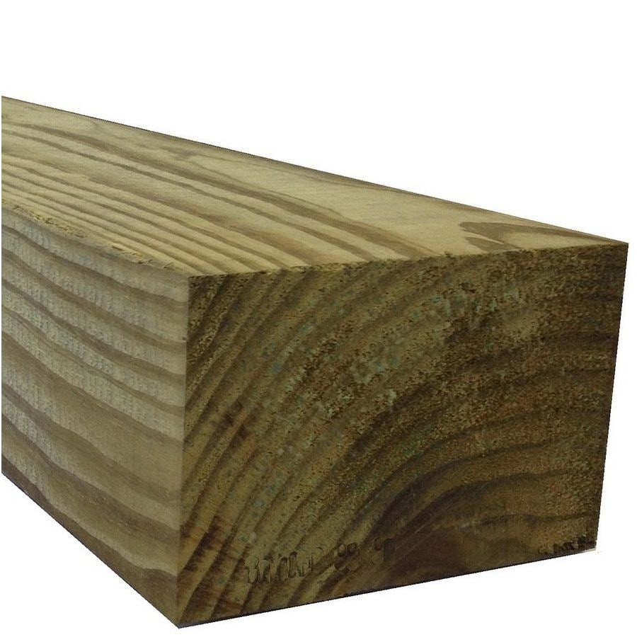 Severe Weather (Common: 4-in x 6-in x 10-ft; Actual: 3.5-in x 5.5-in x 10-ft) Pressure Treated Lumber