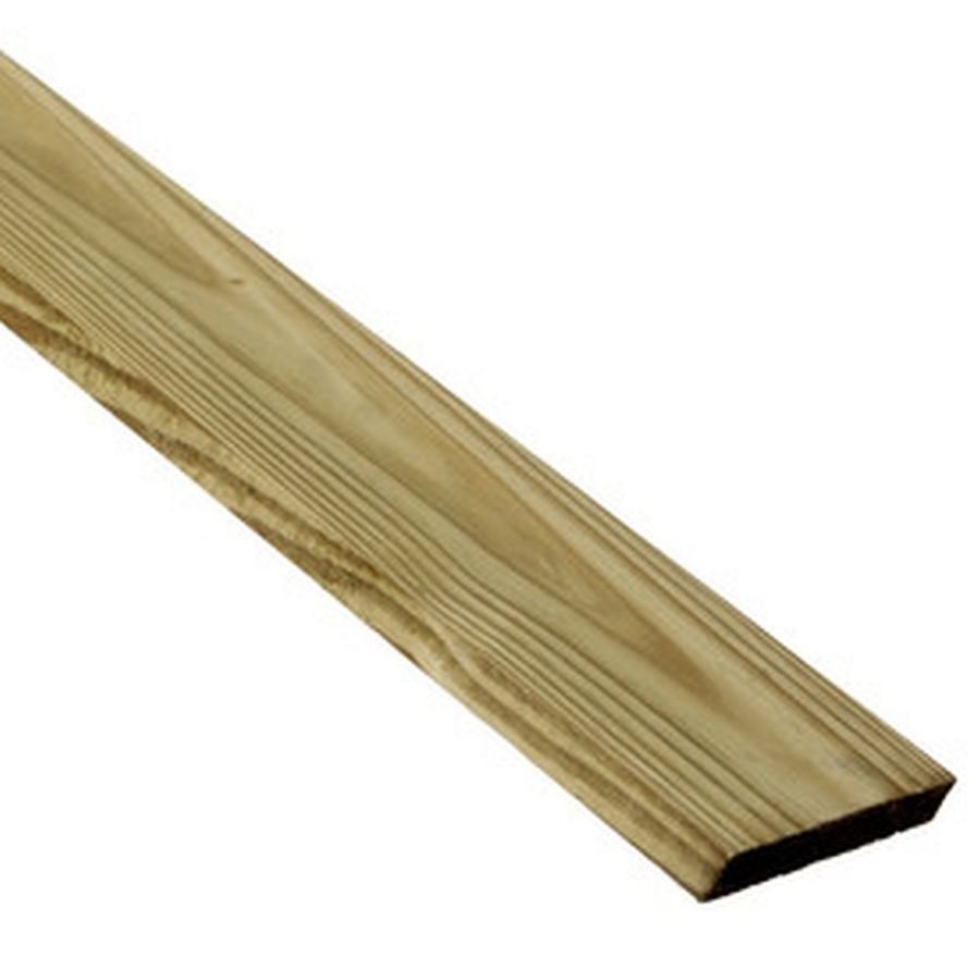 Top Choice (Common: 1-in x 4-in x 12-ft; Actual: 0.75-in x 3.5-in x 12-ft) Pressure Treated Southern Yellow Pine Board