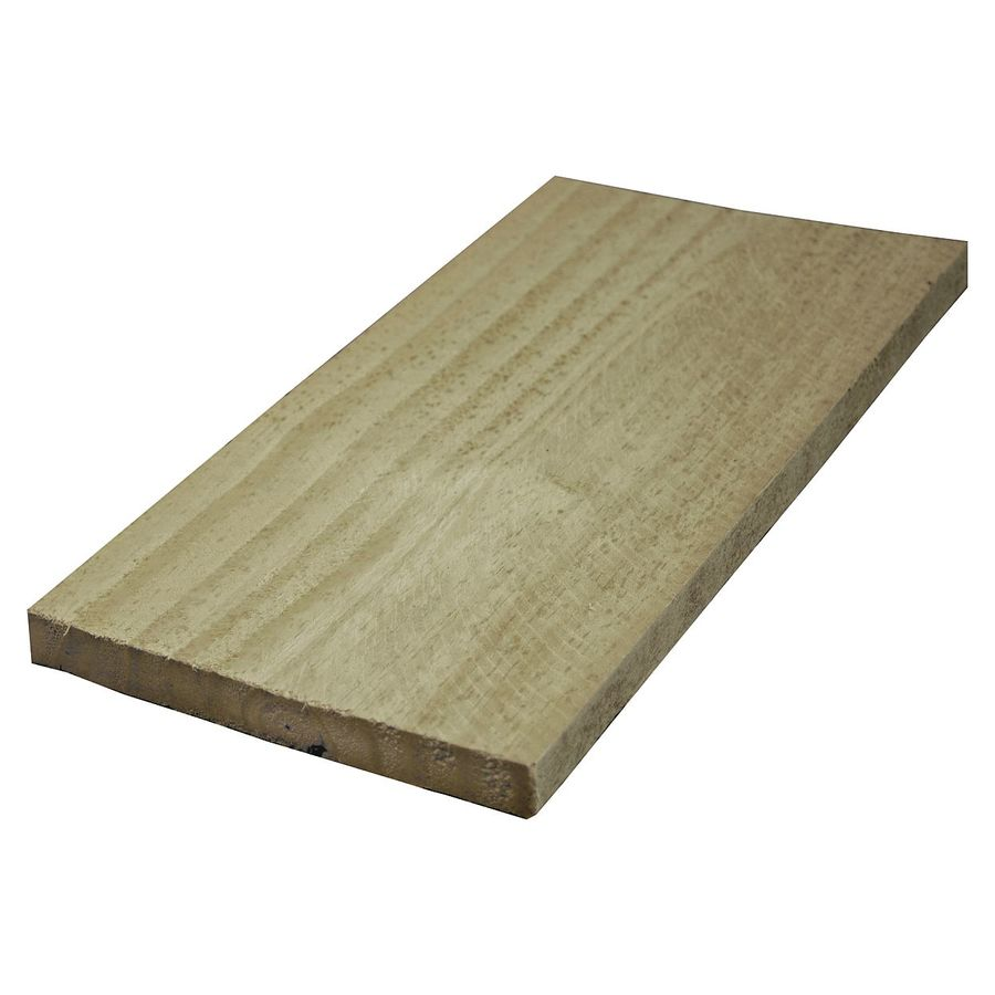 Severe Weather (Common: 1-in x 6-in x 16-ft; Actual: 0.75-in x 5.5-in x 16-ft) Pressure Treated Southern Yellow Pine Board