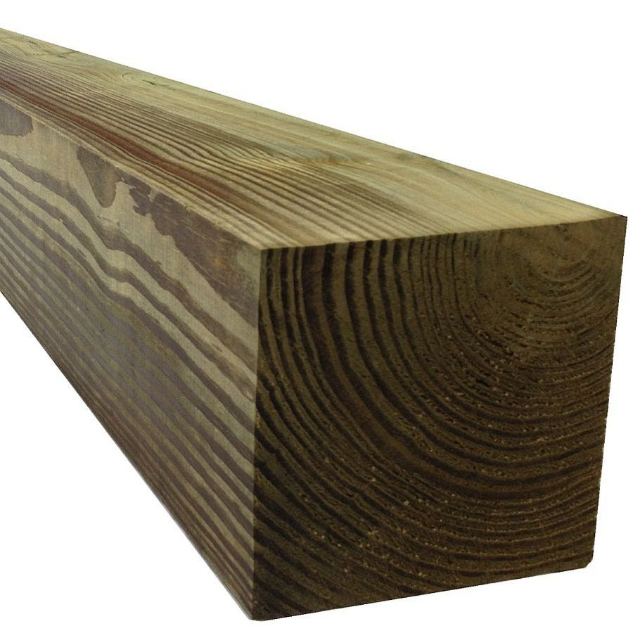 Pressure Treated Railroad Tie (Actual: 5.5-in x 5.5-in x 6-ft)