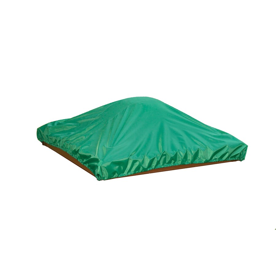 Shop Frame It All 48-in x 48-in Green Vinyl Sandbox Cover at Lowes.com