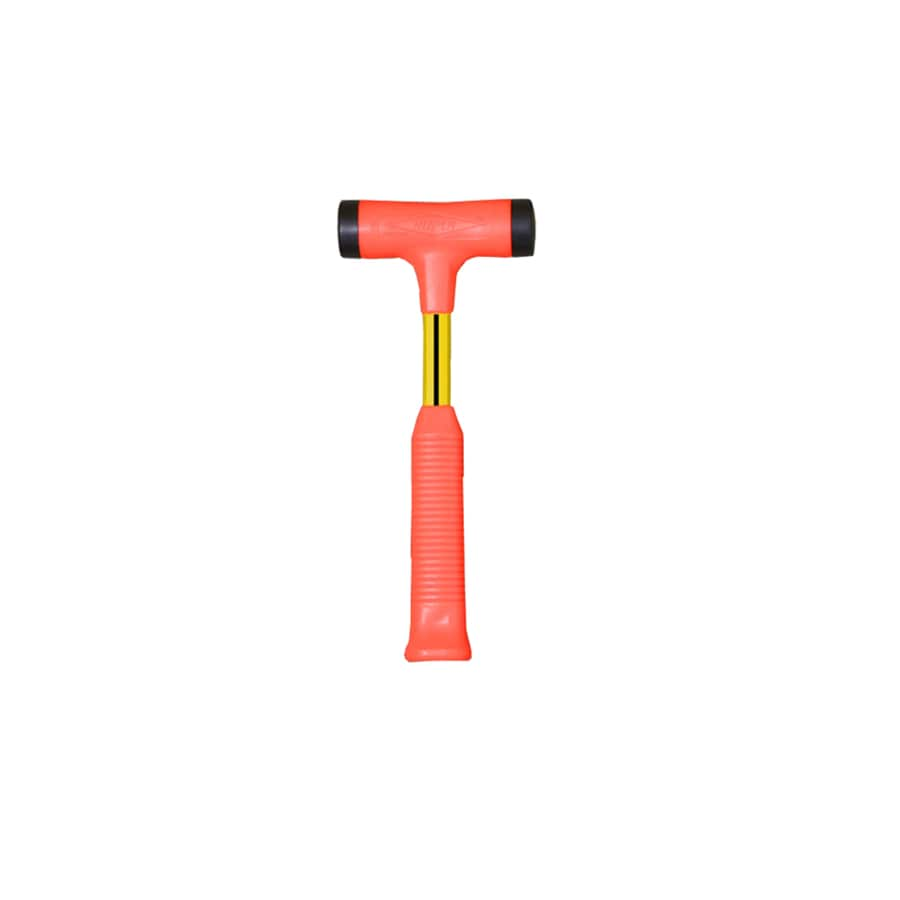 Nupla 24-oz Flat Non-Marring Fiberglass Ergonomic Non-Slip Grip Handle Hammer