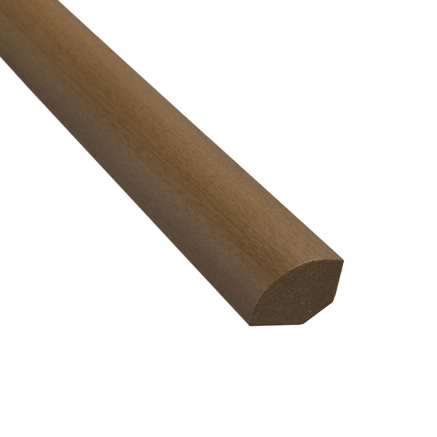 SimpleSolutions 0.75-in x 94.48-in Medium Hickory Quarter Round Floor Moulding