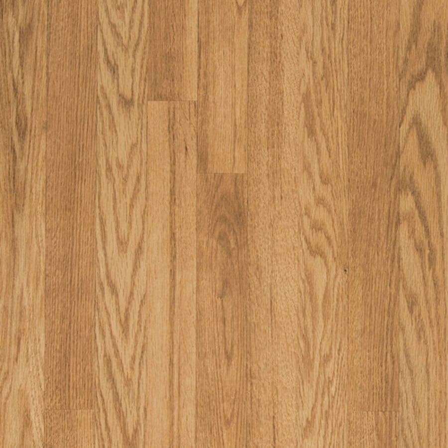 Shop pergo max w x l natural oak embossed for Natural oak wood flooring
