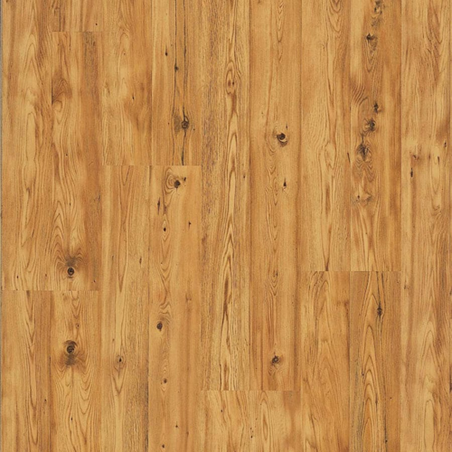 Pergo MAX 7.61-in W x 3.96-ft L Lakeshore Pine Wood Plank Laminate Flooring