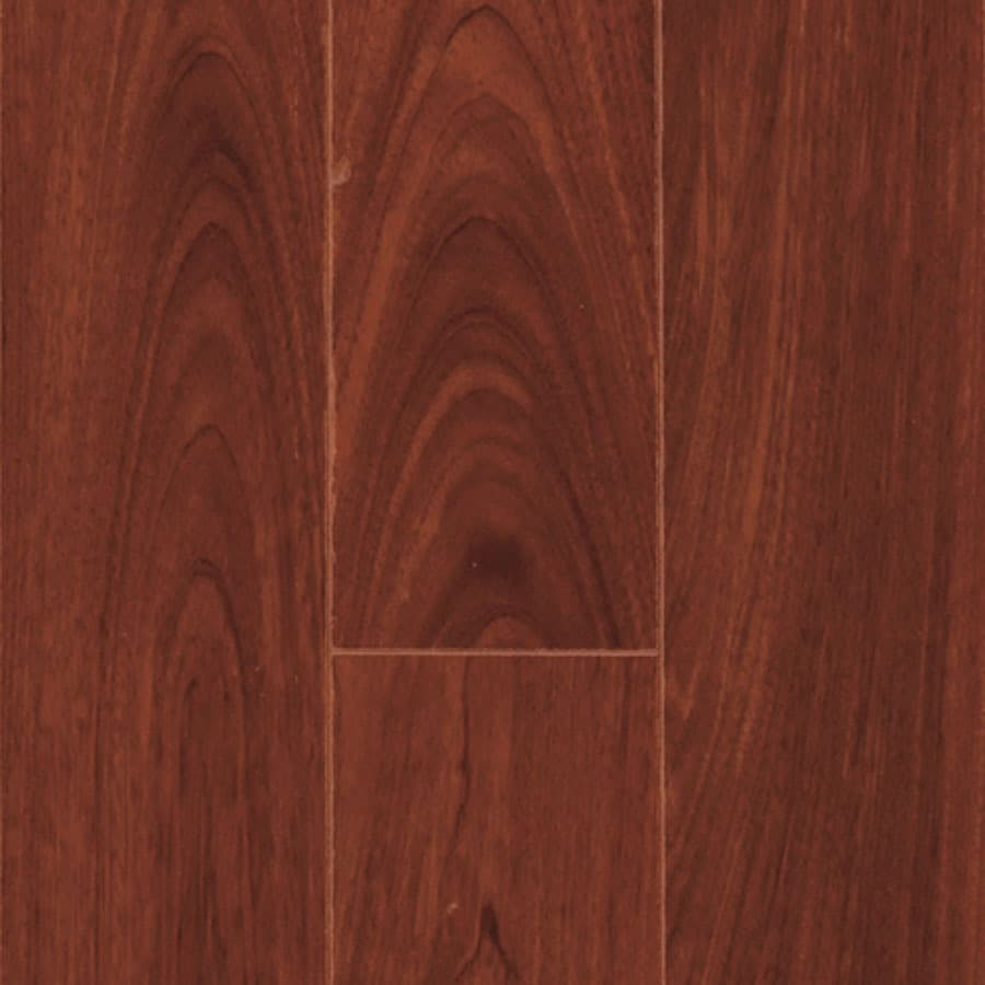 Pergo MAX 4.92-in W x 3.99-ft L Mediterranean Kempas Smooth Wood Plank Laminate Flooring