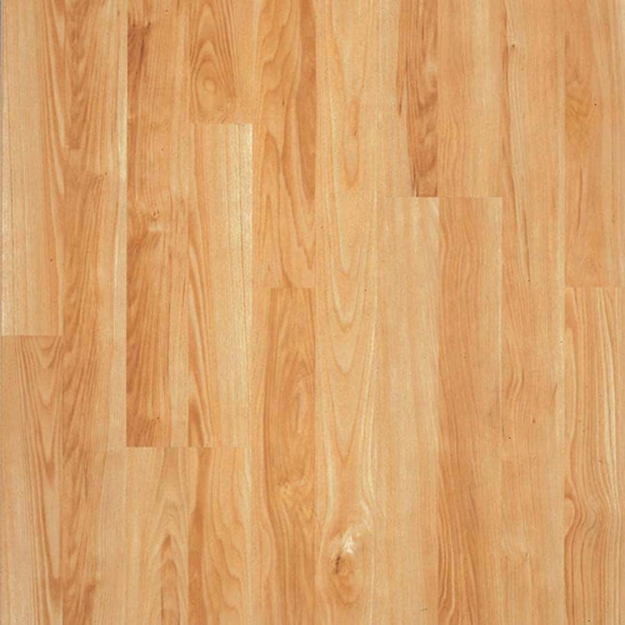 Shop pergo max w x l american beech wood for Pergo laminate flooring