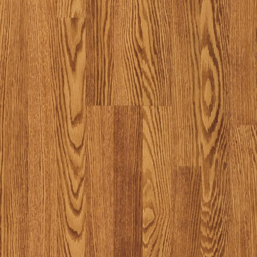 Pergo MAX 7.61-in W x 3.96-ft L Newland Oak Embossed Wood Plank Laminate Flooring