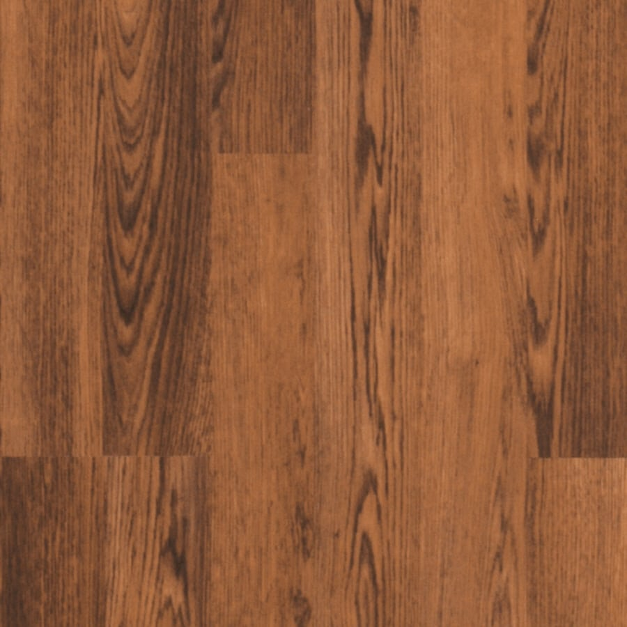 Pergo MAX 7.61-in W x 3.96-ft L Allendale Oak Embossed Wood Plank Laminate Flooring