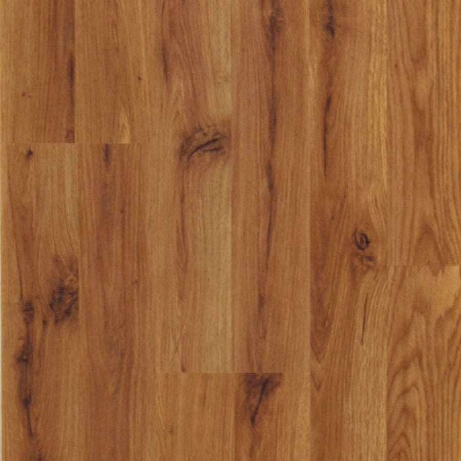 Shop pergo max w x l meadowbrook oak wood for Pergo laminate flooring