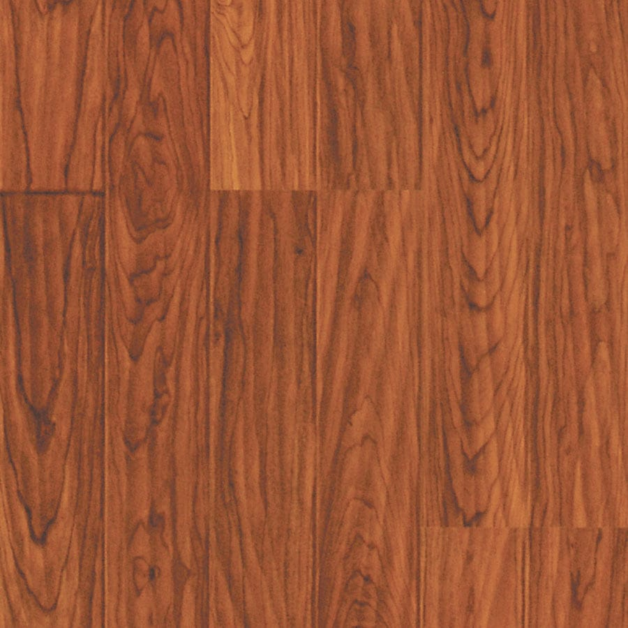 Pergo MAX 7.61-in W x 3.96-ft L Heritage Cherry Embossed Wood Plank Laminate Flooring