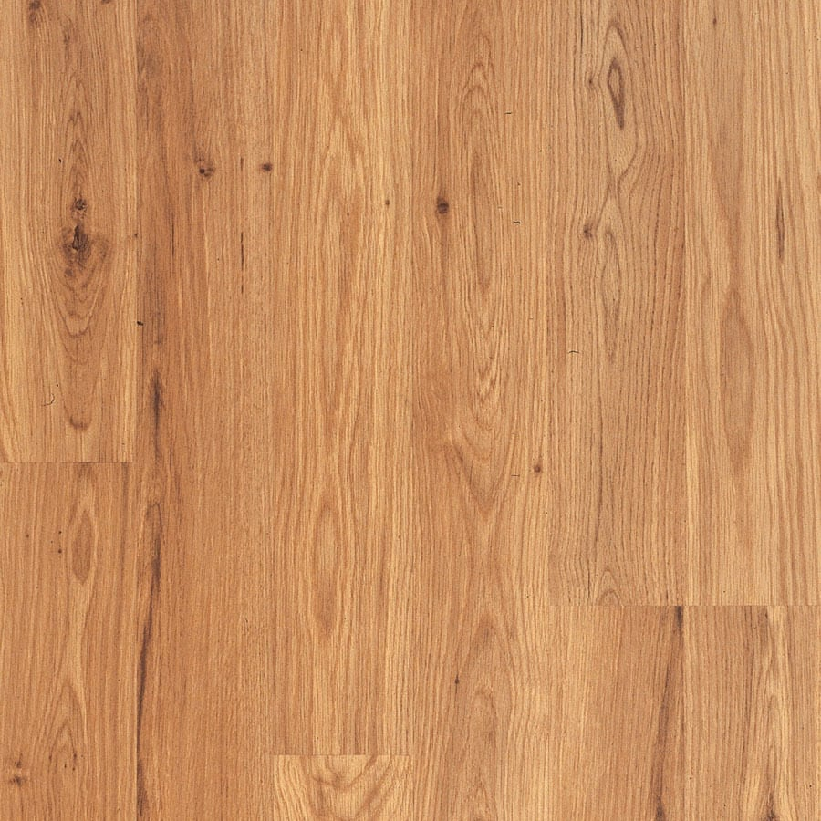 Shop pergo max w x l medlin oak wood plank for Pergo laminate flooring