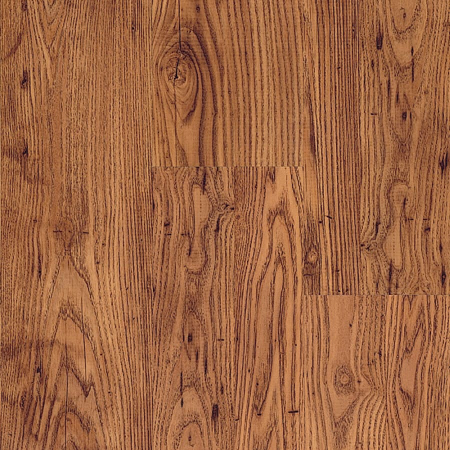 Pergo MAX 7.61-in W x 3.96-ft L Rustic Chestnut Embossed Wood Plank Laminate Flooring