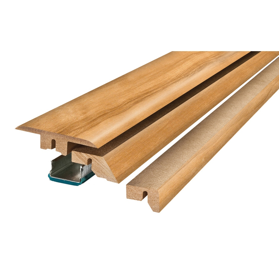 SimpleSolutions 2.37-in x 78.74-in Beech 4-N-1 Floor Moulding