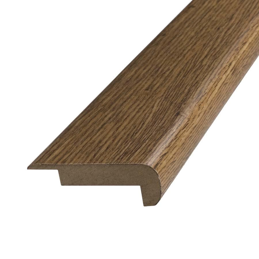 SimpleSolutions 2.37-in x 78.7-in Lodge Oak Stair Nose Floor Moulding