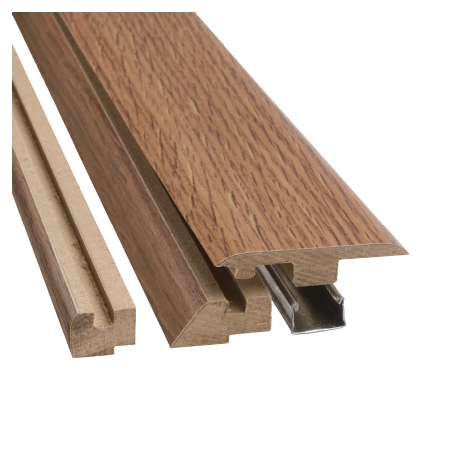 SimpleSolutions 2.37-in x 78.74-in Oak 4-n-1 Floor Moulding