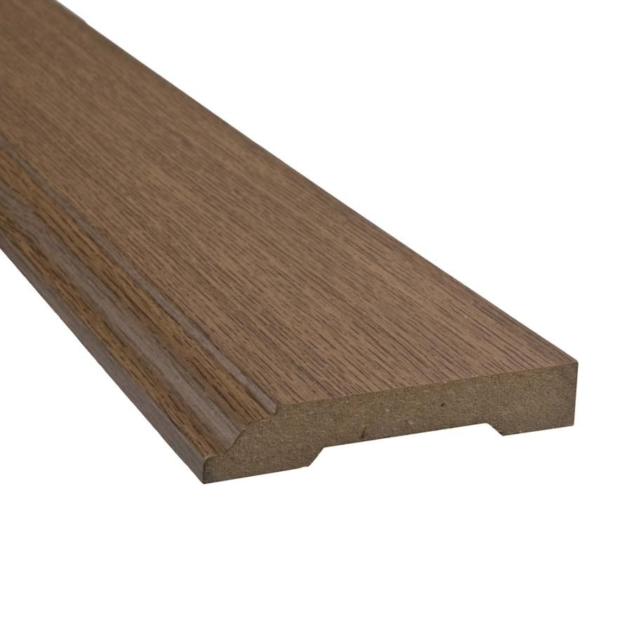 SimpleSolutions 3.3-in x 94.48-in Ironmill Maple Base Floor Moulding