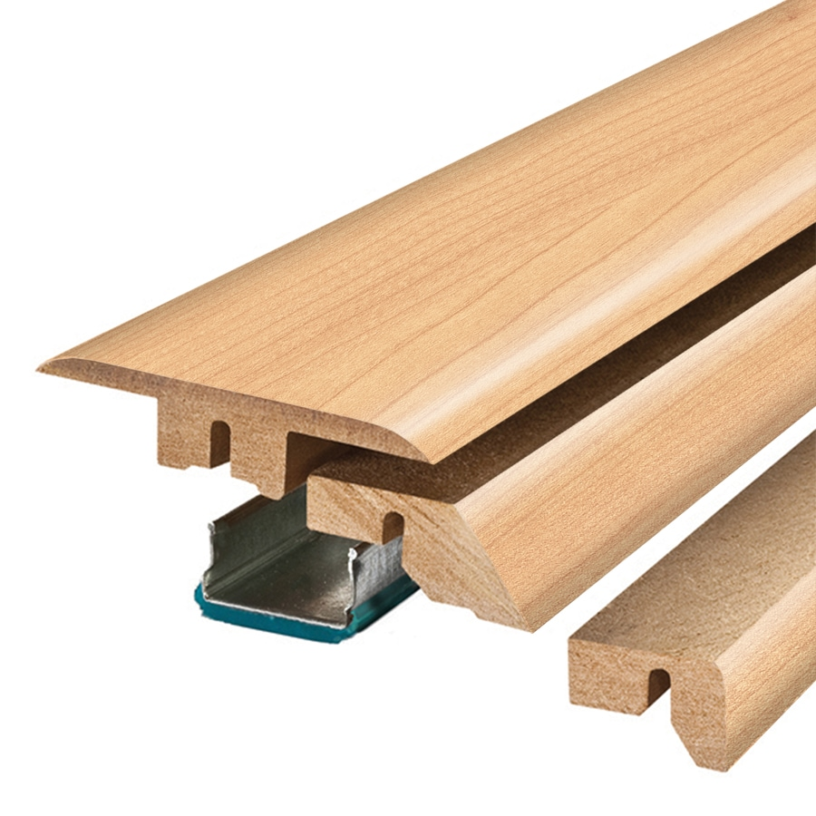 SimpleSolutions 2.37-in x 78.74-in Spalted Maple 4-N-1 Floor Moulding
