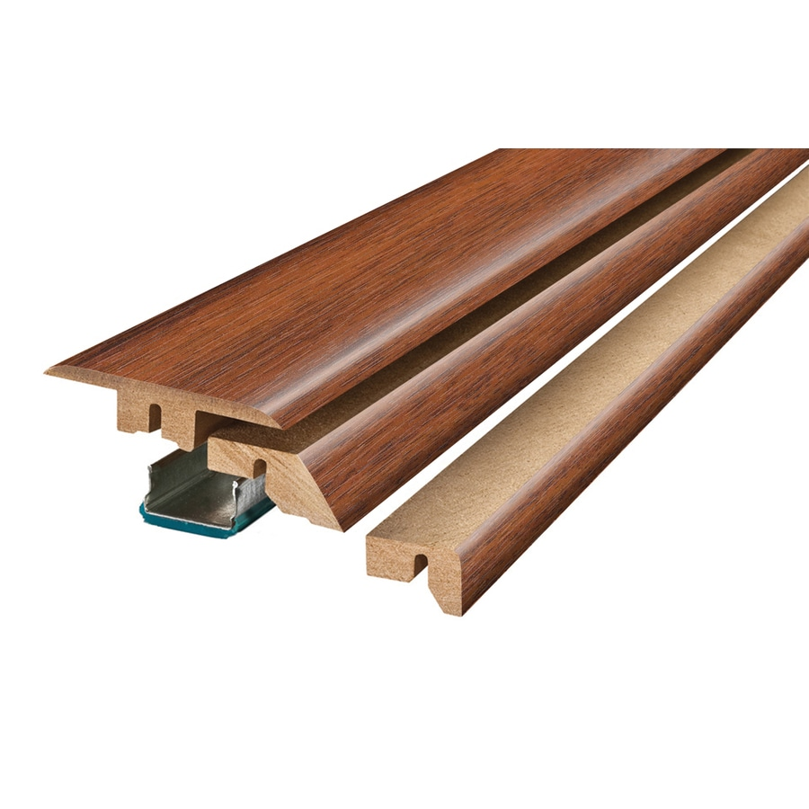 SimpleSolutions 2.37-in x 78.74-in Maui Acacia 4-N-1 Floor Moulding