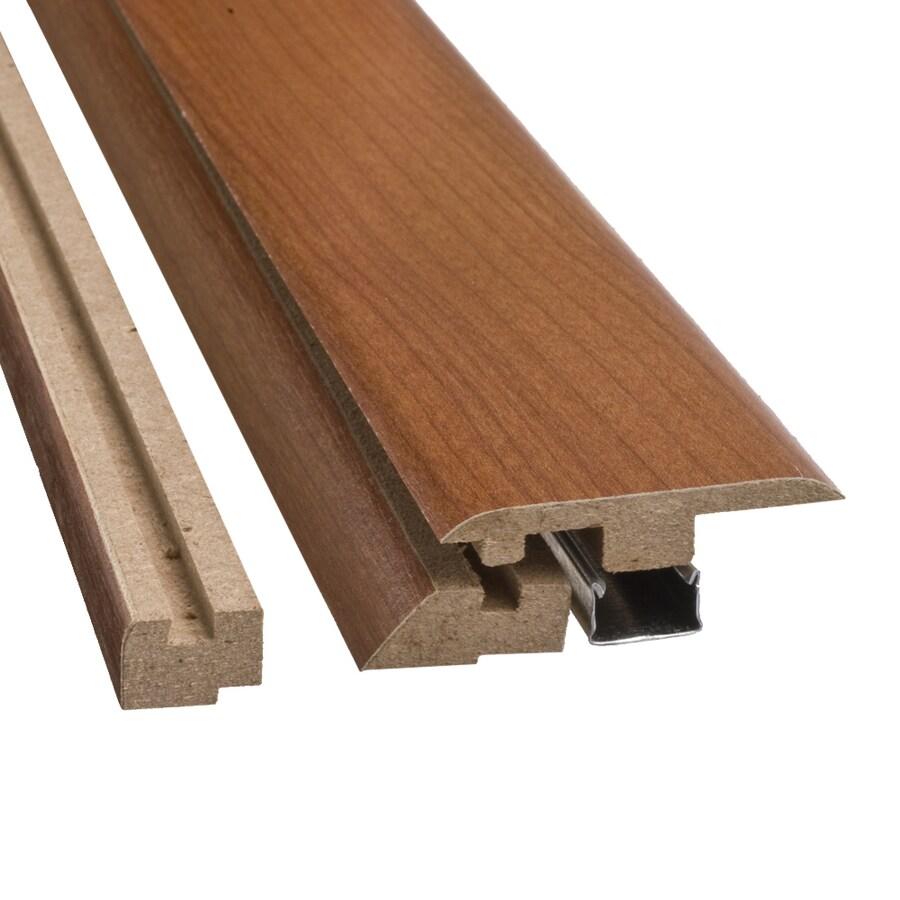 SimpleSolutions 2.37-in x 78.74-in Soft Plum 4-n-1 Floor Moulding