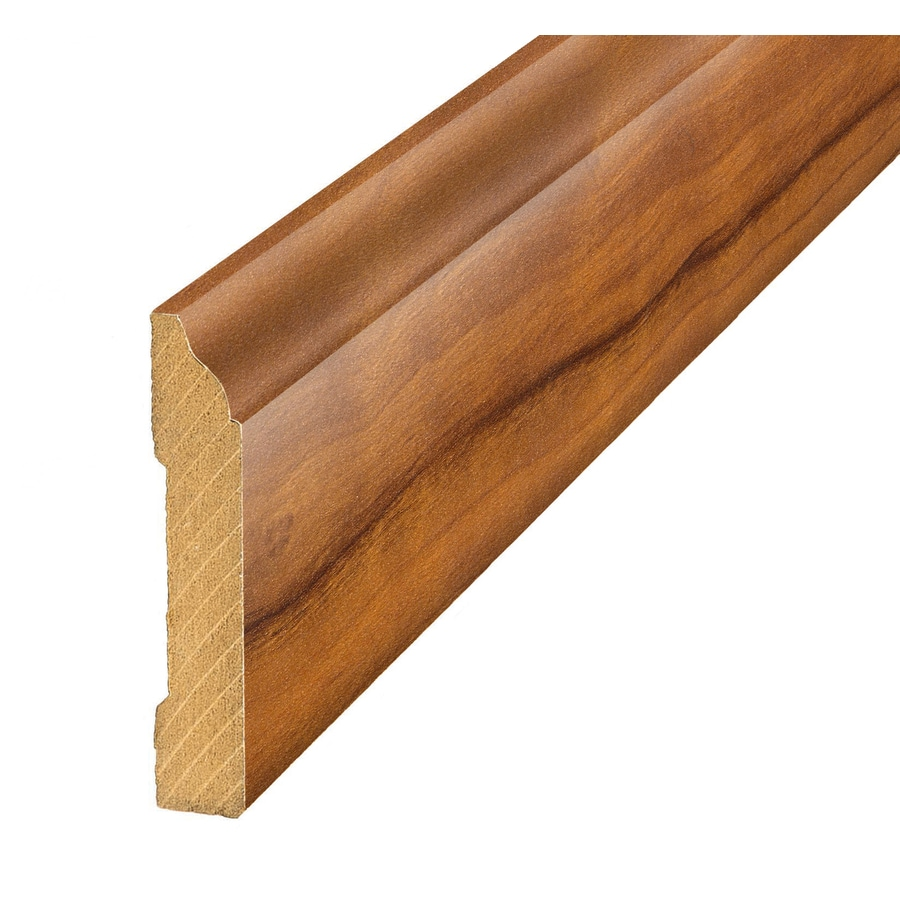 SimpleSolutions 3.3-in x 94.48-in Orchard Plum Base Floor Moulding