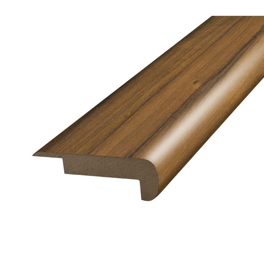 SimpleSolutions 2.37-in x 78.7-in Spice Mill Hickory Stair Nose Floor Moulding
