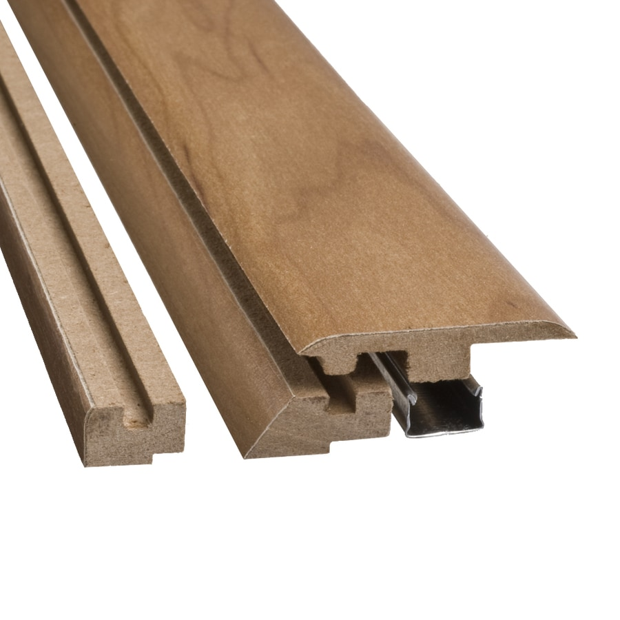 SimpleSolutions 2.37-in x 78.74-in Rustic Natural Maple 4-n-1 Floor Moulding