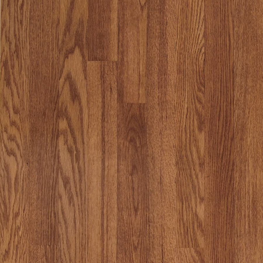 Shop Pergo Red Oak Wood Planks Laminate Flooring Sample At Lowes