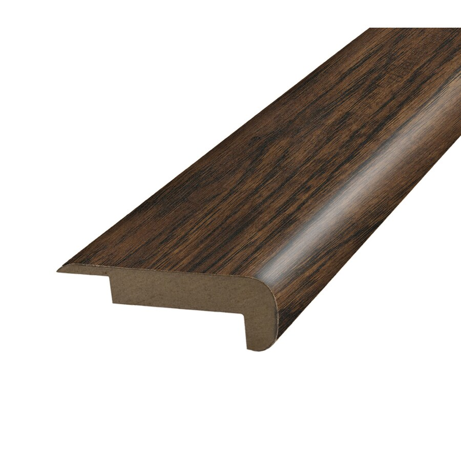 SimpleSolutions 2.37-in x 78.74-in Hickory Hickory Stair Nose Floor Moulding