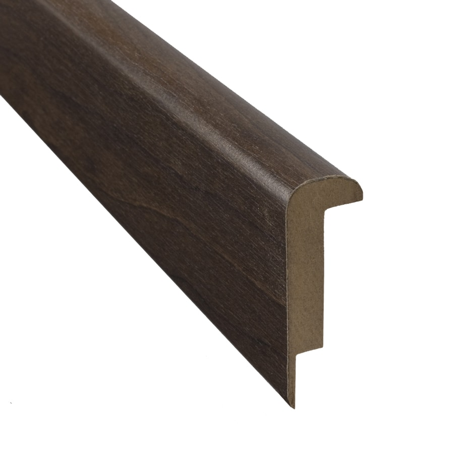 SimpleSolutions 2.37-in x 78.74-in Curly Walnut Stair Nose Floor Moulding
