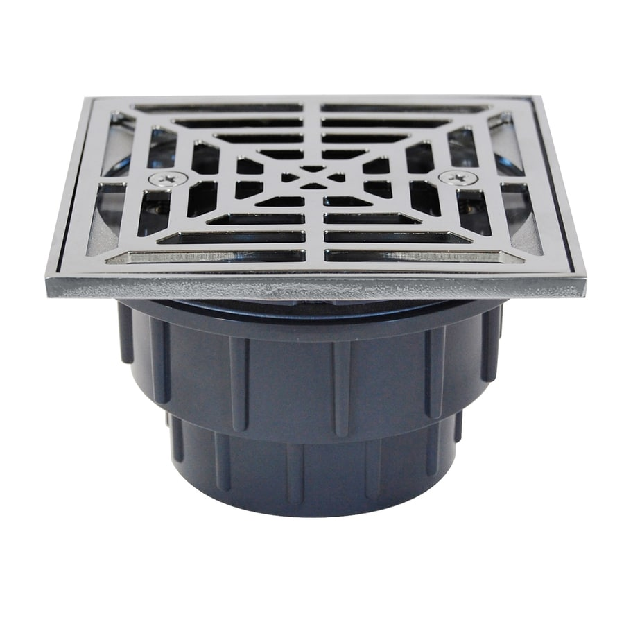Sioux Chief 825 4.5-in Slotted Square PVC Shower Drain