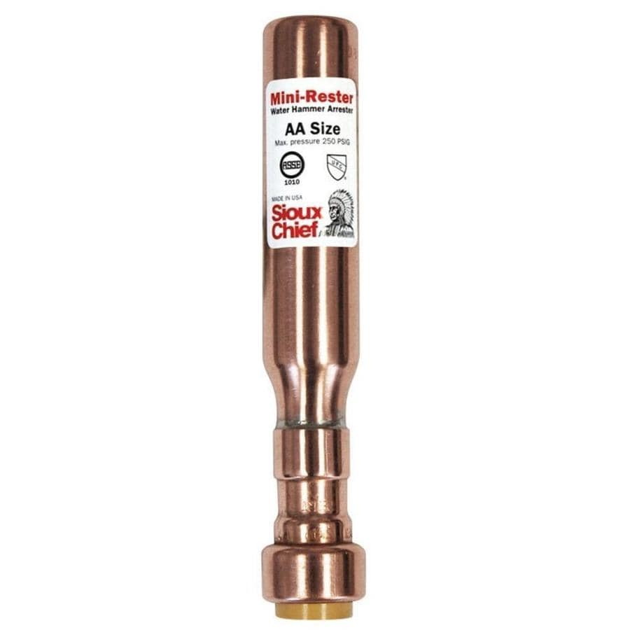 Sioux Chief Copper 1/2-in Push Fit Pressure Reducing Valve