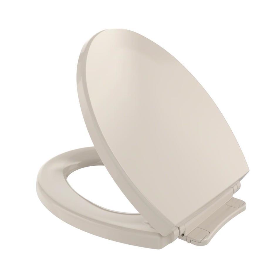TOTO Plastic Round Slow-Close Toilet Seat
