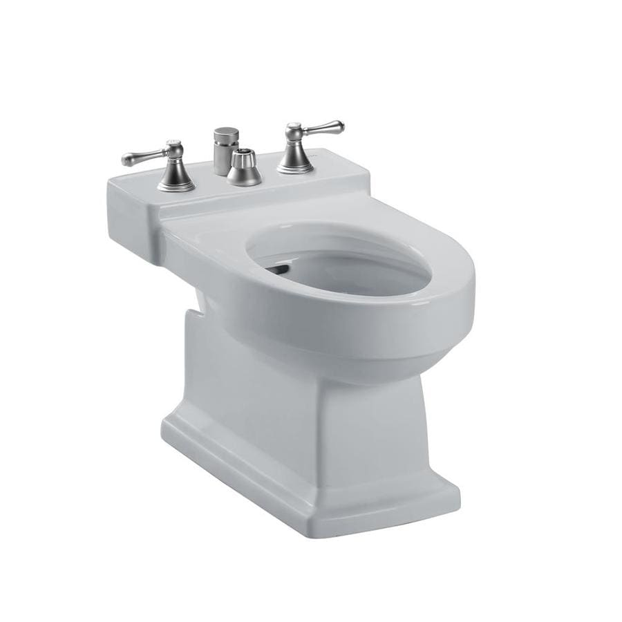 TOTO Lloyd 15-in H Colonial White Elongated Bidet