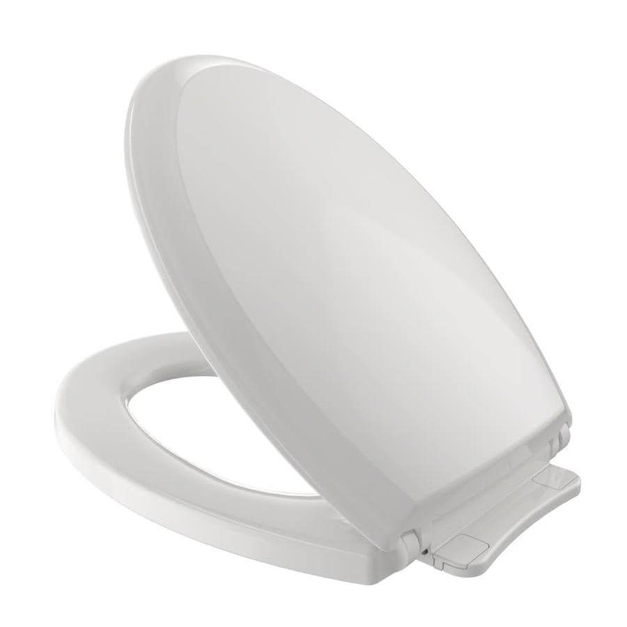 Toto Guinevere Plastic Elongated Slow Close Toilet Seat At