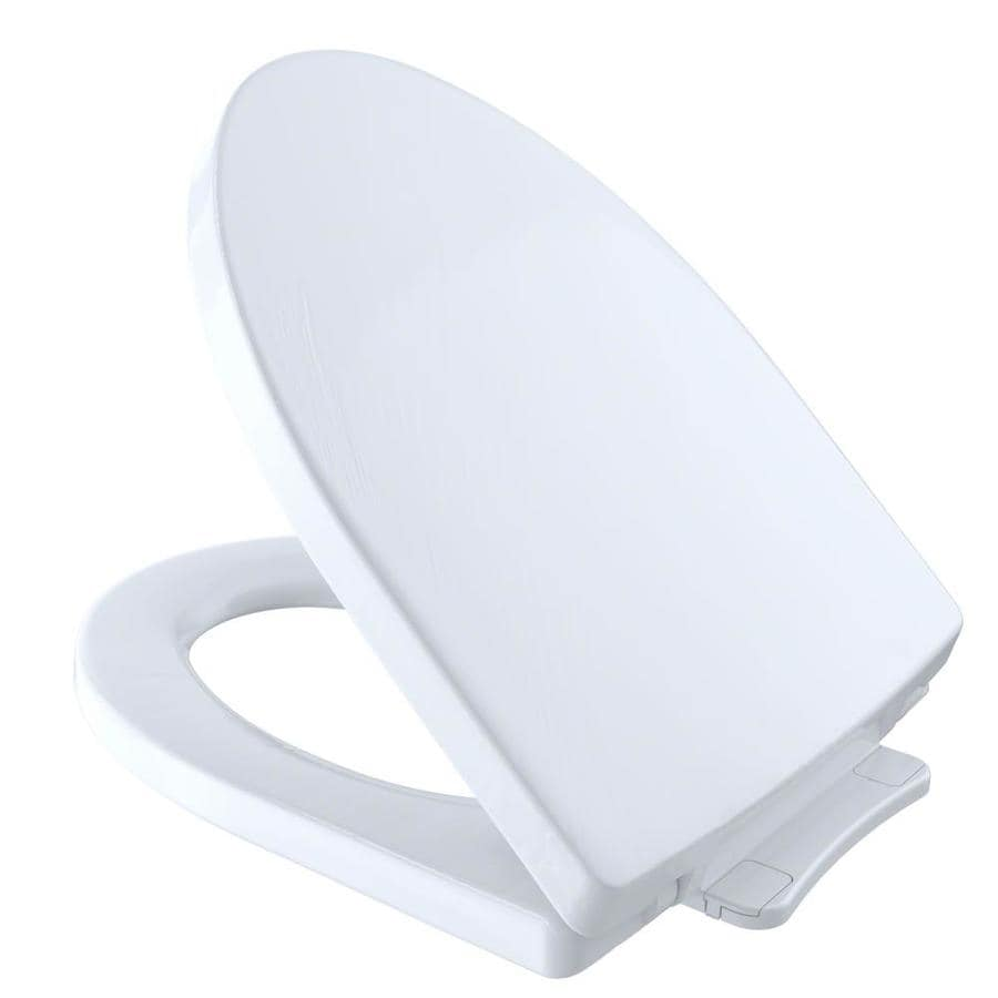 Toto Soiree Plastic Elongated Slow Close Toilet Seat At