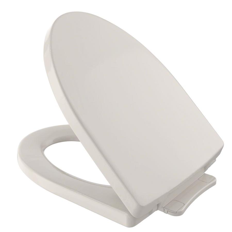 TOTO Soiree Plastic Elongated Slow-Close Toilet Seat