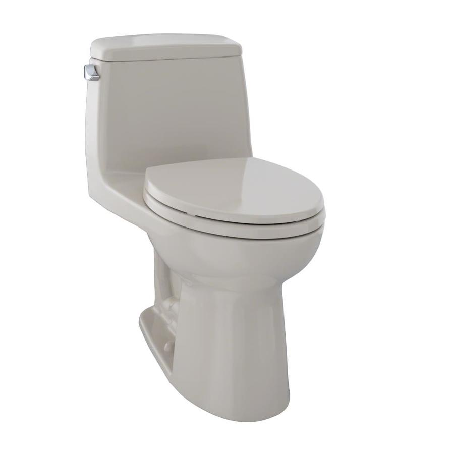 TOTO Ultimate 1.6 Bone Elongated Standard Height 1-Piece Toilet