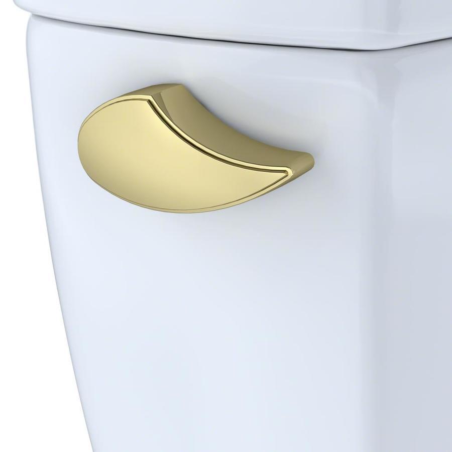 TOTO Carolina Polished Brass Toilet Handle