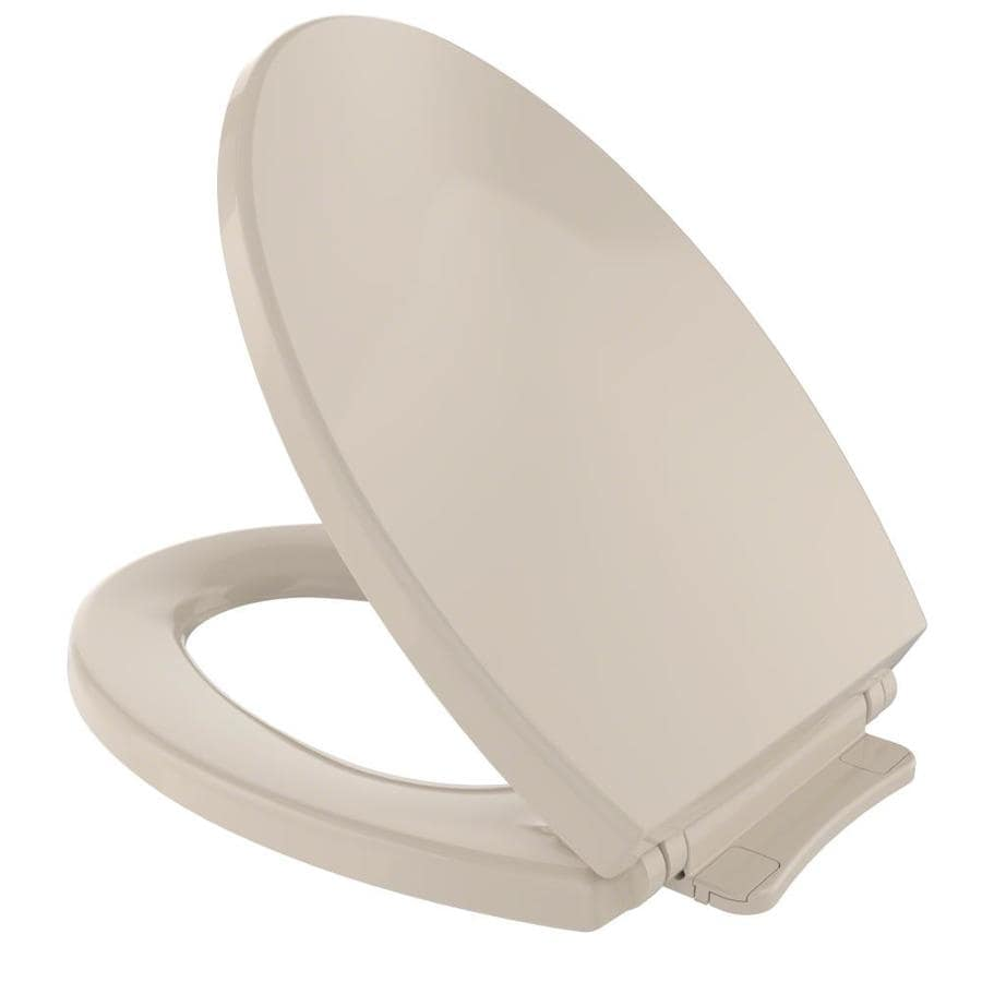 Shop TOTO Plastic Elongated Slow Close Toilet Seat At