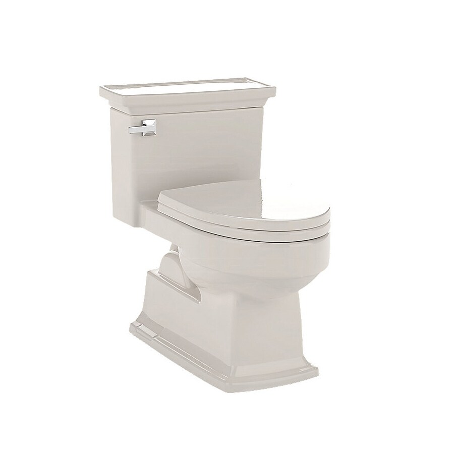 TOTO Lloyd 1.6-GPF (6.06-LPF) Sedona Beige Elongated Chair Height 1-Piece Toilet