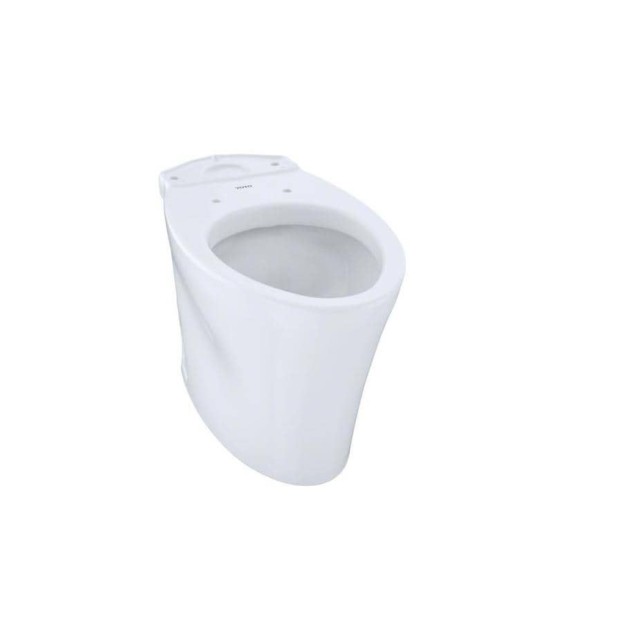 TOTO Eco Nexus Chair Height Cotton White 12 Rough-In Elongated Toilet Bowl