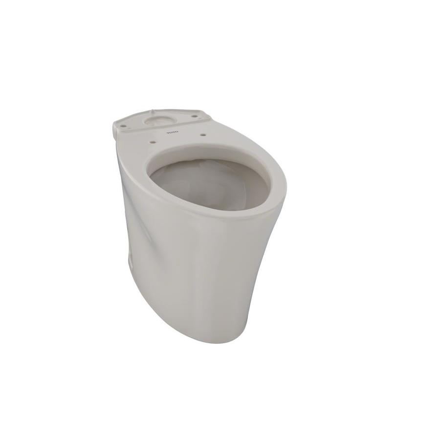 TOTO Eco Nexus Chair Height Bone 12 Rough-In Elongated Toilet Bowl