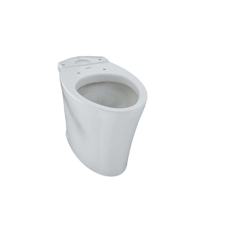 Shop TOTO Eco Nexus Colonial White Elongated Chair Height Toilet ...