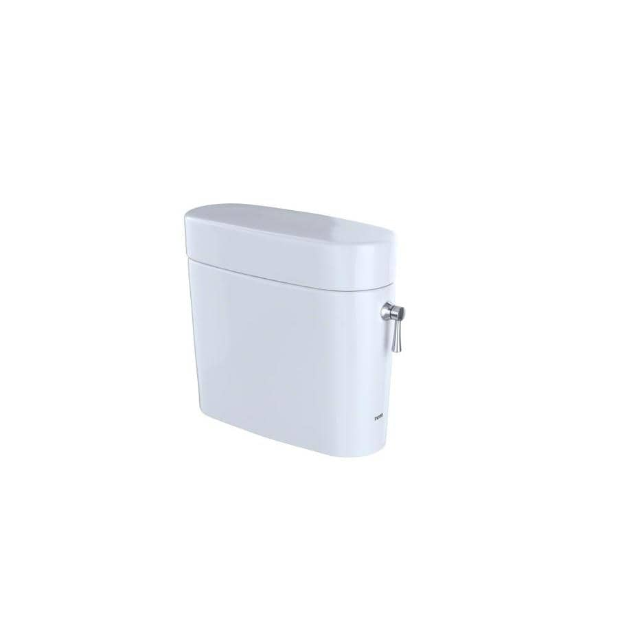 TOTO Nexus Cotton White 1.28-GPF (4.85-LPF) 12 Rough-In Single-Flush High-Efficiency Toilet Tank